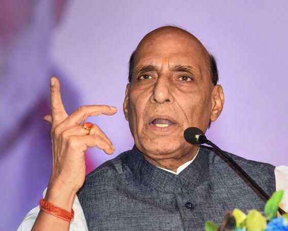 Mend ways or get fragmented: Rajnath to Pak
