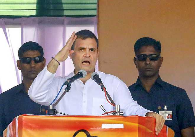Modi-Shah distracting people from farm crisis, joblessness: Rahul Gandhi