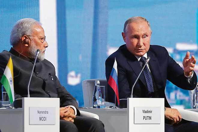 Putin's note of caution to Modi on Quad