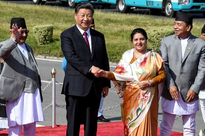 Xi pledges $500m investment in Nepal