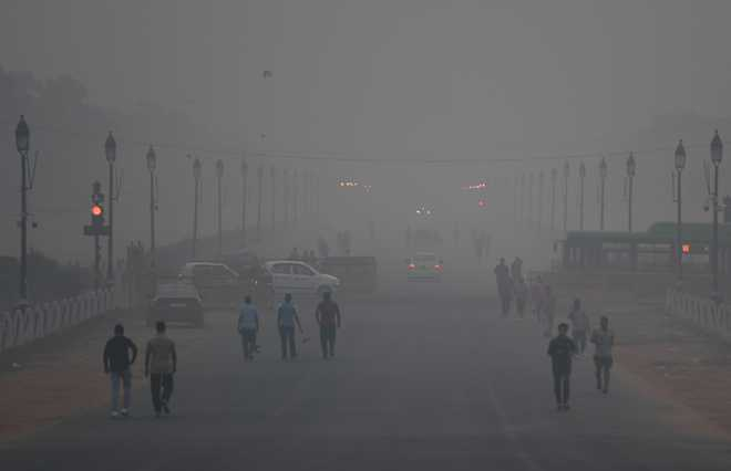 'Delhi air to be 'very poor' from tomorrow'