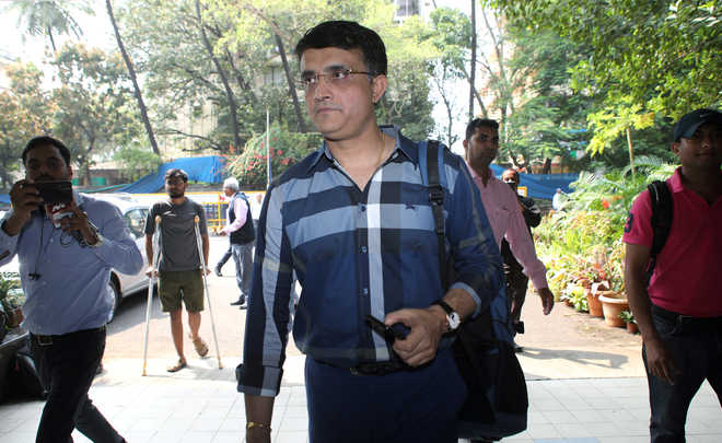 Ganguly to be BCCI president