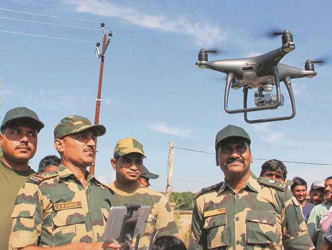 To tackle UAV threat, BSF to buy anti-drone system