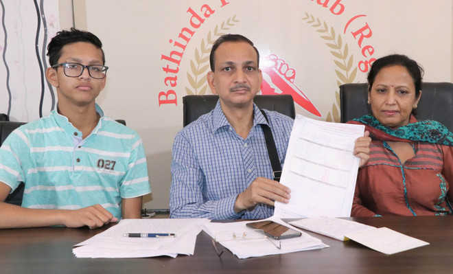 Parents of Class XII student allege 'wrong' evaluation