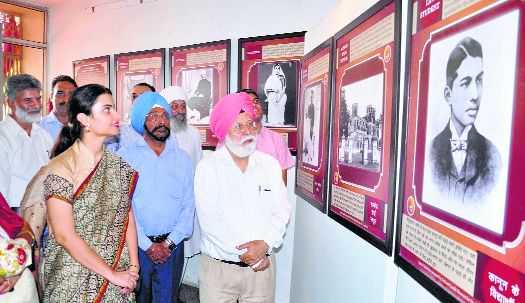 Photo exhibition on Gandhi's life