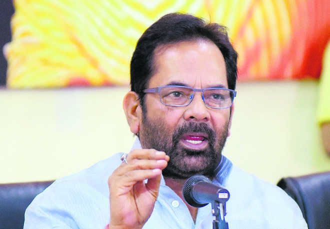 India is heaven for minorities, says Mukhtar Abbas Naqvi