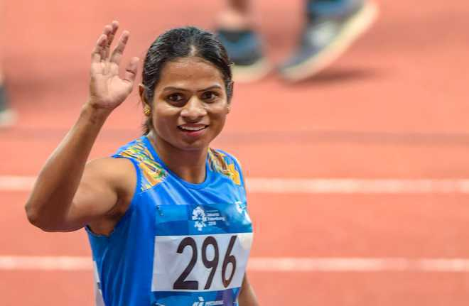 I am focused on qualifying for Olympics: Dutee Chand
