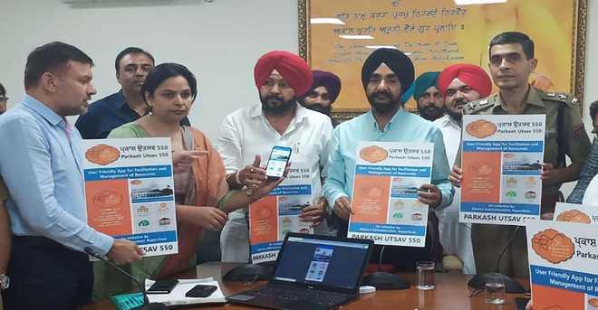 Mobile app 'Parkash Utsav 550' launched to facilitate pilgrims