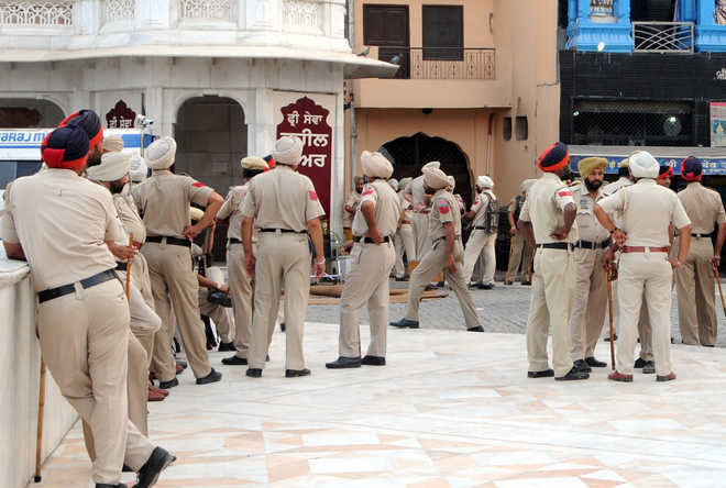 Punjab govt okays remission for cops out on bail