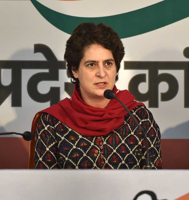 What craziness has taken over UP govt: Priyanka on home guards removal