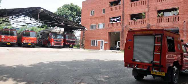 Mohali civic body to outsource staff  to improve fire services