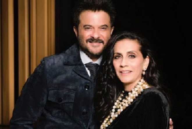 Watch: Anil Kapoor''s unique way of wishing Karva Chauth to wife