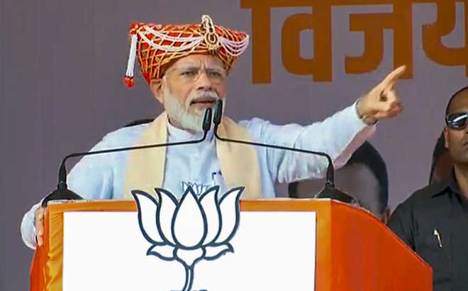Action against the corrupt to continue, says Modi at rally in Pune