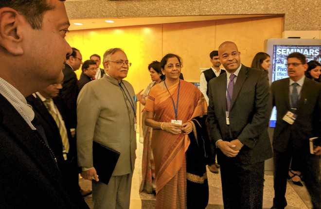 Nirmala woos global firms: No better place to invest than India