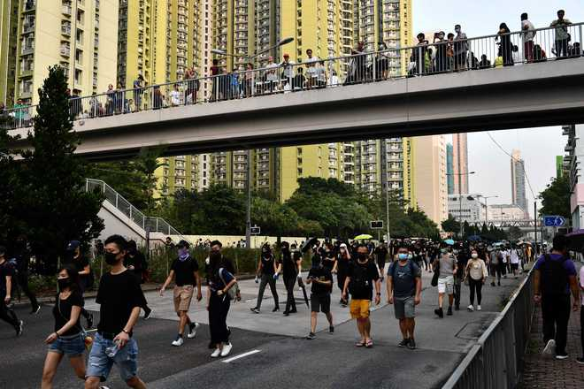 Hong Kong braces for weekend of fresh anti-government protests