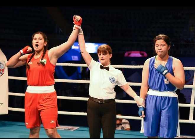 Patiala girl bags gold at UAE Asian Junior Boxing Championships