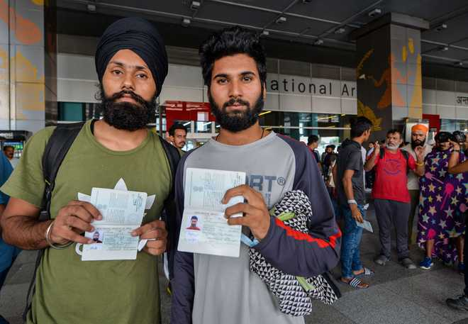 US dream shattered as 311 Indians deported by Mexico arrive in Delhi