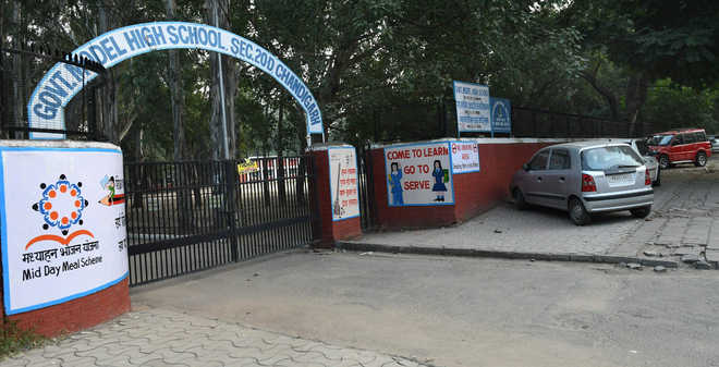 Despite orders, govt school gates shut for parking