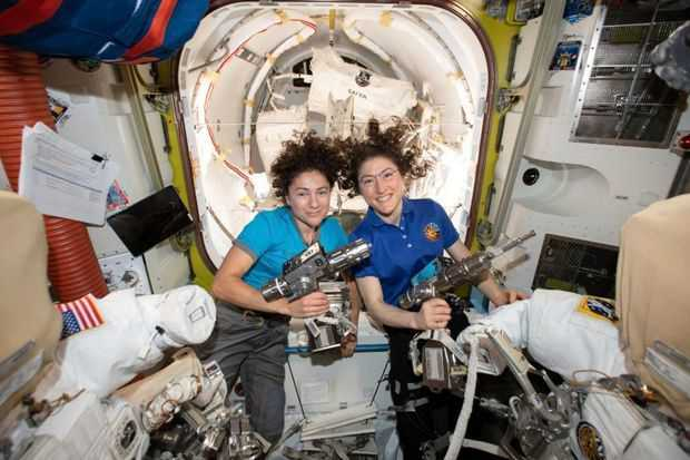 US astronauts make history with first all-woman spacewalk
