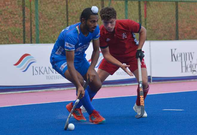 Indian colts hold Britain 3-3