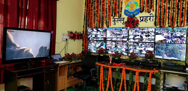 Electronic surveillance to check crime in Kullu town