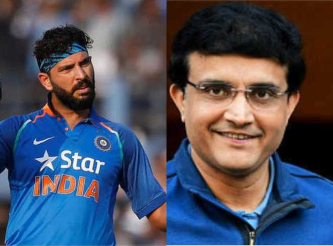 Wish you were BCCI chief when Yo-Yo was there: Yuvraj to Ganguly
