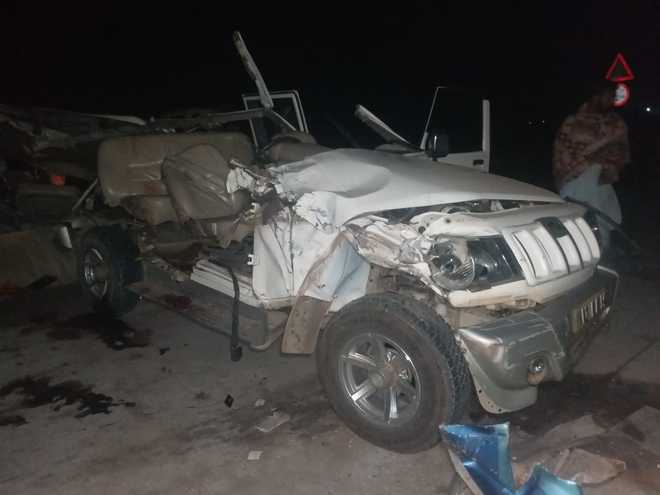 4 youths killed, 5 injured in road accident on Moga-Barnala highway
