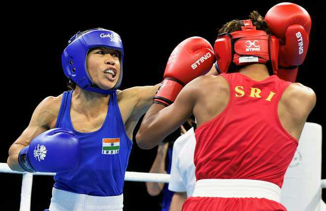 I''m not scared to fight Nikhat Zareen in trials: Mary Kom