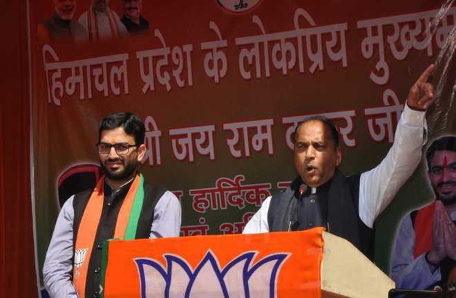 Rebels queer  the pitch for BJP in Himachal