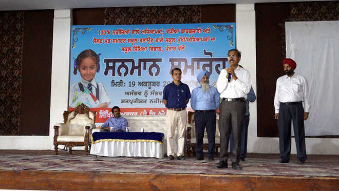 2,000 schoolteachers felicitated in Muktsar