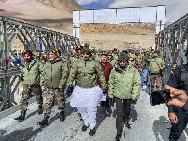 Siachen now open to tourists: Rajnath Singh