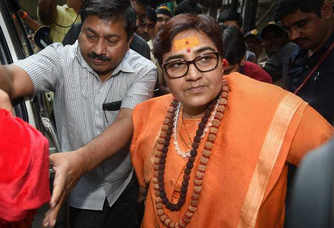BJP MP Pragya kicks up another row, says Mahatma Gandhi is 'son of nation'