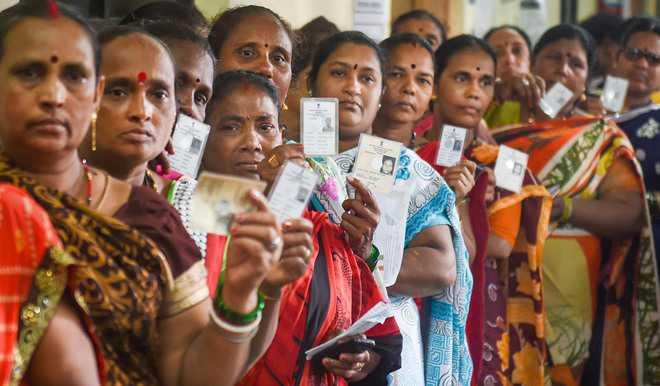 63% voting in M'rashtra, same as in 2014