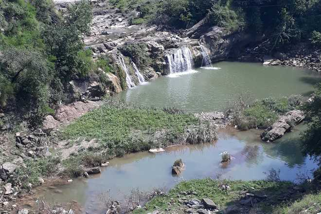 Plastic polluting pristine streams in Shivalik hills