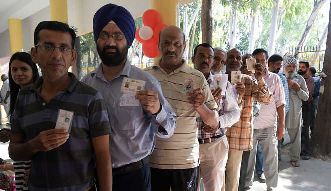 Turnout dips by 9% in Kalka