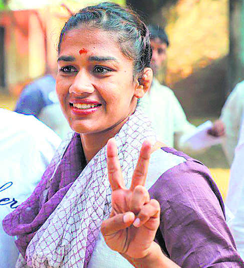 Will promote sports: Phogat
