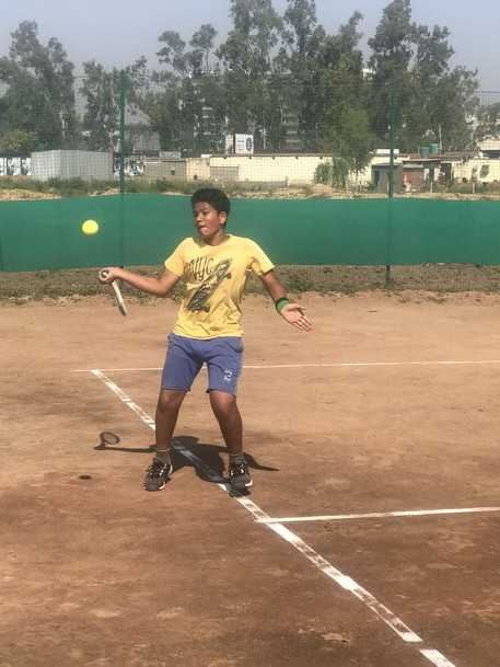 Arnav beats Satvik, moves into 2nd round
