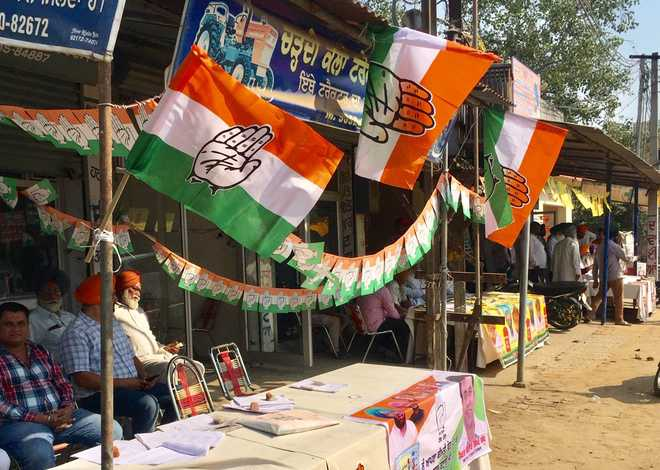 Relatively low turnout at Ahmedgarh