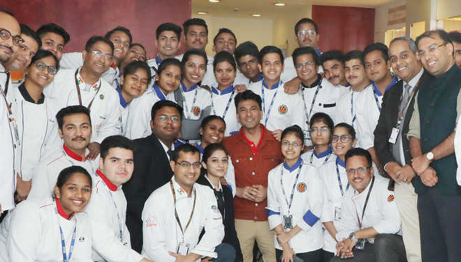 Be passionate, aim high, budding chefs told