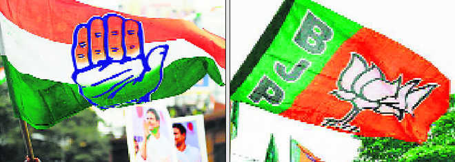 BJP, Cong candidates confident of victory