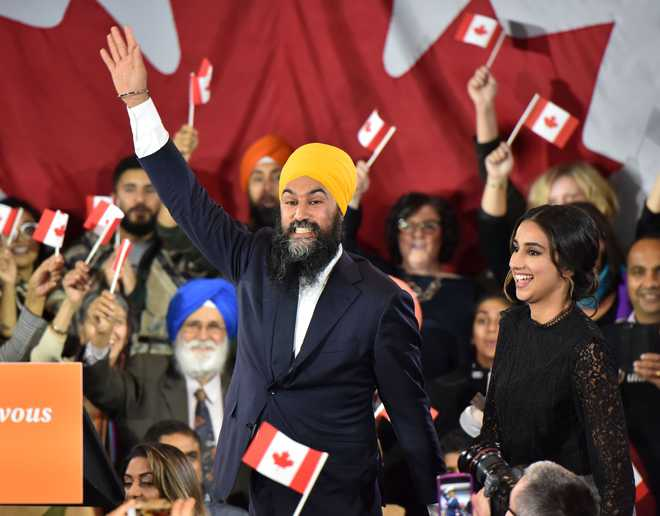 NDP's Jagmeet Singh set to emerge 'kingmaker' in Canada govt formation