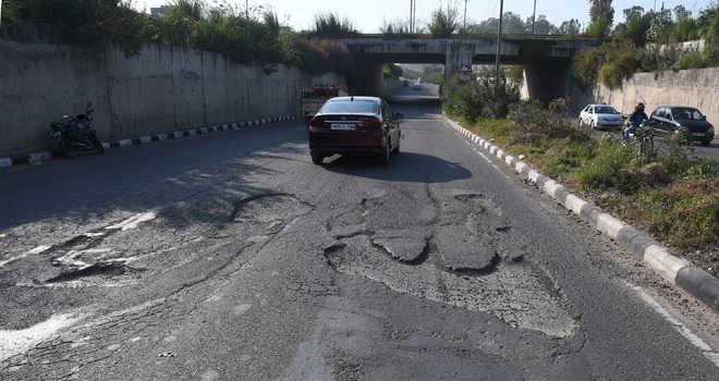 Potholed roads a blot on City Beautiful