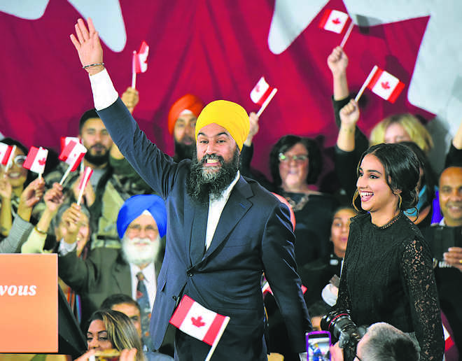 Jagmeet likely kingmaker in hung Canadian House