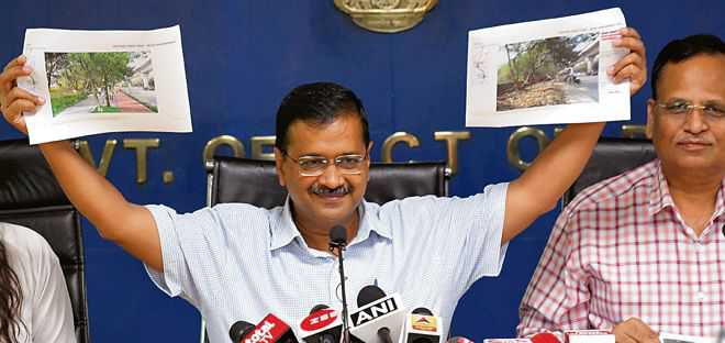 PWD roads to be redesigned, landscaped in city, says Kejri