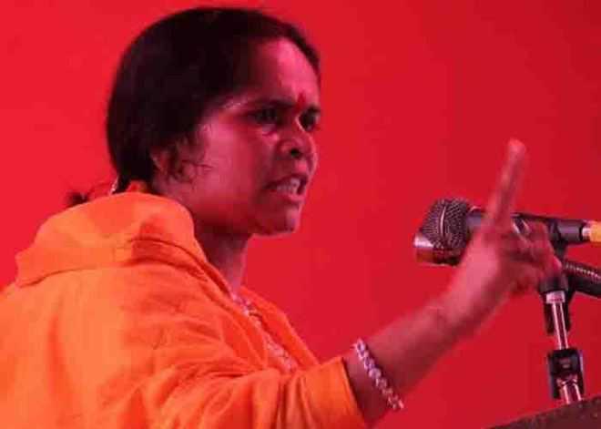 After Kamlesh Tiwari's murder, I fear for my life: Sadhvi Prachi