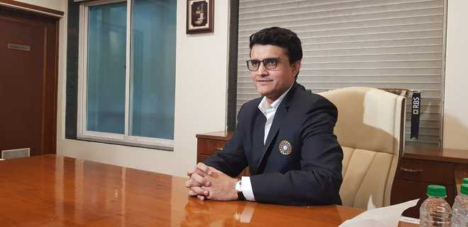 Former India captain Sourav Ganguly takes over as BCCI president
