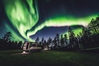 The Aurora Borealis (Northern Lights) is seen in the sky in Ivalo of Lapland, Finland on September 27, 2019. — Reuters