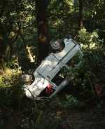 6 hurt as van skids into gorge
