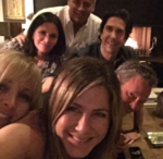 Jennifer Aniston joins Instagram, posts photo with 'Friends' co-stars