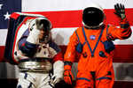 NASA unveils new spacesuit prototypes for missions: One size fits all